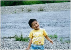 鏡川とおひさまの笑顔!!